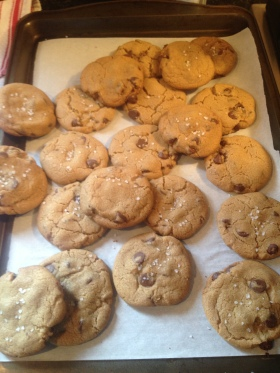 cookies finished