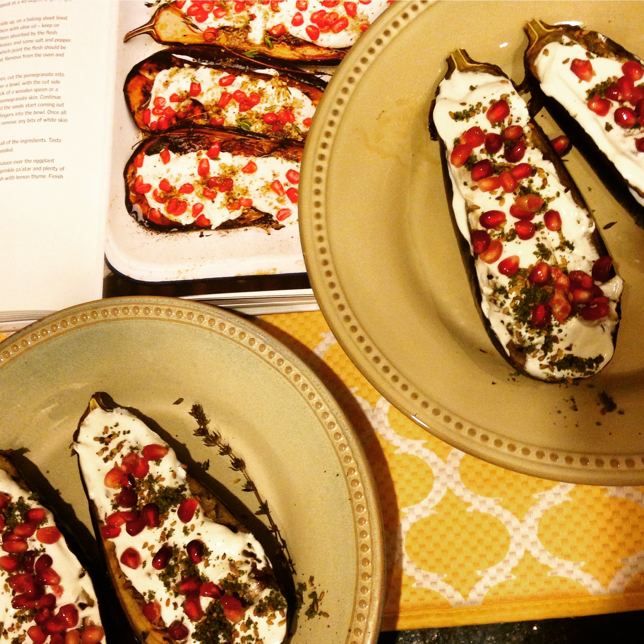 Ottolenghi's Eggplant with Buttermilk Sauce | Taste of the City
